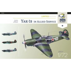 Yak-1B in Allied Service. Limited Edition