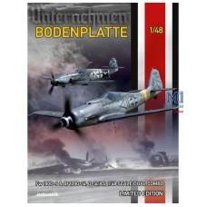 Bodenplatte. Fw 190D-9 & Bf 109G-14, G-14/AS