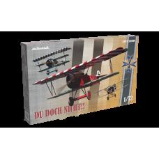 Du Doch Nicht!! Albatros D.V, Fokker Dr.I, Fokker D.VII. Limited edition