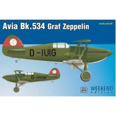 Avia Bk.534 Graf Zeppelin Weekend edition
