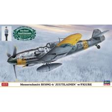 """Messerschmitt Bf109G-6 """"Juutilainen"""" w/Figure"""