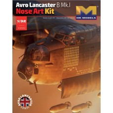 Avro Lancaster B Mk.I Nose Art Kit