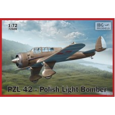 PZL 42 Karas - Polish Light Bomber