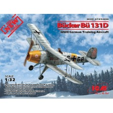 Bucker Bu 131D WWII German Training Aircraft