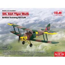 DH. 82A Tiger Moth British Training Aircraft