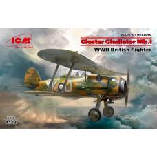 Gloster Gladiator Mk.I WWII British Fighter