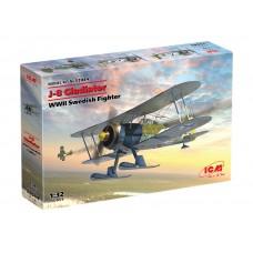 J-8 Gladiator WWII Swedish Fighter