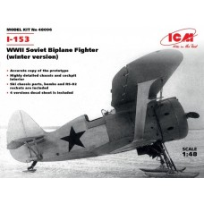 I-153 (Winter Version) WWI Soviet Biplane Fighter