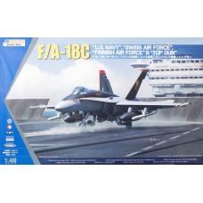 """F/A-18C """"U.S. Navy"""", """"Swiss Air Force"""", """"Finnish Air Force"""" & """"Top Gun"""""""