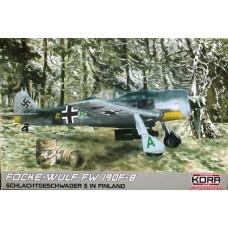 Focke-Wulf FW 190F-8. Schlachtgeschwader 5 in Finland