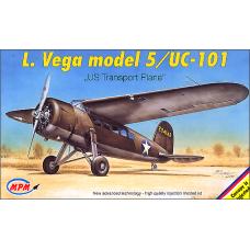 "L. Vega model 5/UC-101 ""US Transport Plane"""
