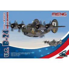 U.S. B-24 Heavy Bomber Cartoon Model