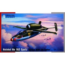 "Heinkel He 162 Spatz ""German WWII Jet Fighter"""