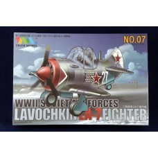 Lavochkin LA-7 Fighter Cute Plane kit.