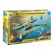 Soviet Dive Bomber Petlyakov Pe-2