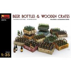 Beer Bottles & Wooden Crates 1/35.