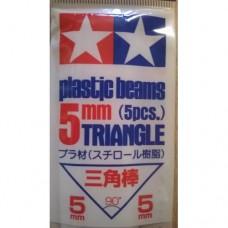 Tamiya Plastic Beams Triangle 5mm (5pcs.)