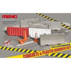 Concrete & Plastic Barriers set 1/35