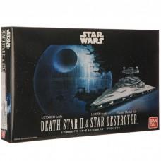 Death Star II 1/2700000 & Star Destroyer 1/14500