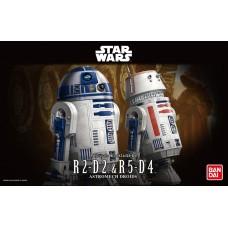 R2-D2 & R5-D4 Astromech Drois