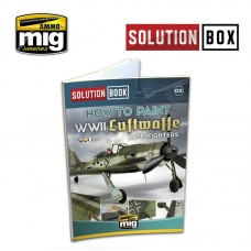 Solution Book How to Paint WWII Luftwaffe Late Fighters
