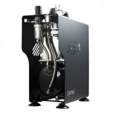 Airbrush Compressor, 23-28lpm, 60psi, TC-610H+