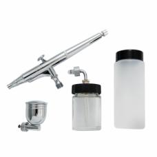 Airbrush DH-125, 0,5mm Gravity-feed 7, 22 & 80cc