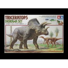 Triceratops Diorama Set