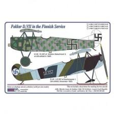 AML Decals 1/32. Fokker D.VII in the Finnish Service