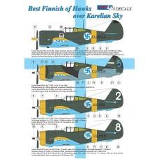 AML Decals 1/48. Best Finnish of Hawks over Karelian Sky