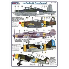AML Decals 1/72. In Finnish Air Force Service!