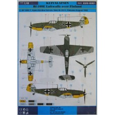 Kuivalainen 1/48 Decals. Bf-109E Luftwaffe over Finland