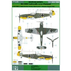 Kuivalainen 1/72 Decals. Bf-109E Luftwaffe over Finland