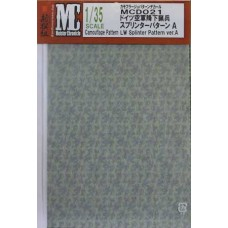 MC decals Camouflage Pattern LW Splinter Pattern ver.A