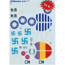 32-016 Polikarpov I-16 Part 2