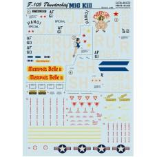 48-070 F-105 Thunderchief. MiG Kill