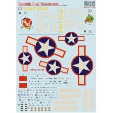 48-199 Republic P-47 Thunderbolt Part 3