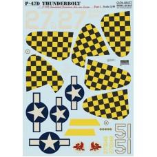 48-077 P-47D Thunderbolt Razorback Aces over Europe Part 1