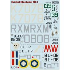 48-081 Bristol Blenheim  The complete set 2