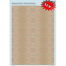 033-Camo Plywood Decal. Textured Trawing 1/72-1/48.
