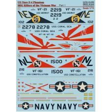 72-058 US NAVY F-4 Phantom Mig Killers Part 1