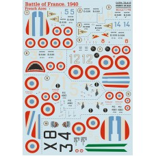 72-413 Battle of France. 1940 French Aces