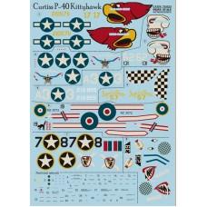 72-023 Curtiss P-40 Kittyhawk USA