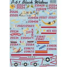 72-036 P-61  Black Widow