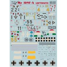 72-049 Me 109 F4 Lutwaffe