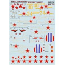 "72-071 Victory aces regiment ""Normandiy-Nieman"""