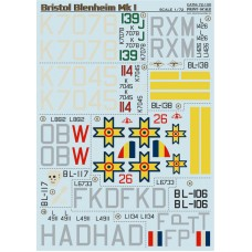 72-100 Bristol Blenheim