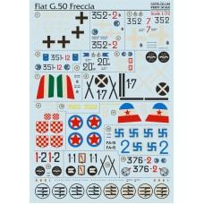 72-144  Fiat G.50 Freccia
