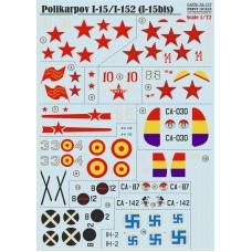 72-177 Polikarpov I-15/I-152 (I-15bis)