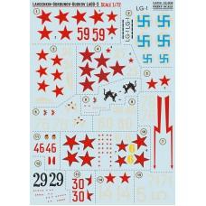 72-309  Lavochkin-Gorbunov-Gudkov LaGG-3